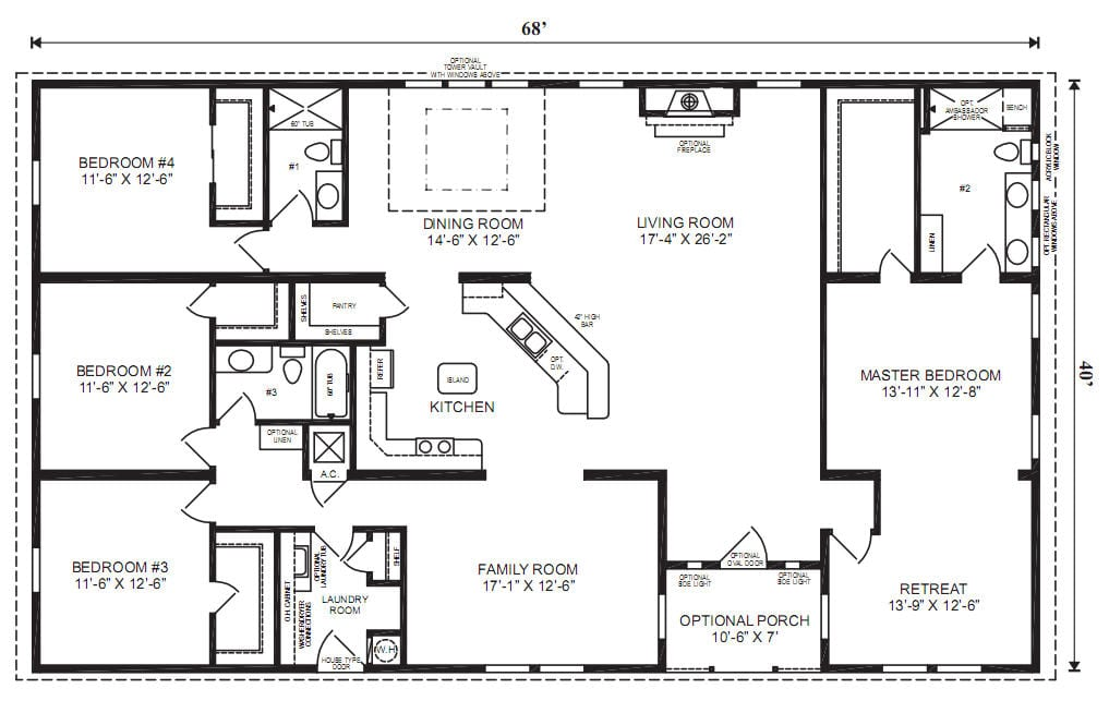 مخطط الطابق ب